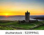 doonagore castle at sunset   hdr | Shutterstock . vector #52599961