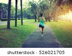 healthy lifestyle young sporty... | Shutterstock . vector #526021705