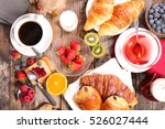 breakfast | Shutterstock . vector #526027444
