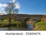 landscape view of a bridge... | Shutterstock . vector #52604674