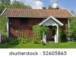 red cottage   Shutterstock . vector #52605865