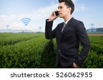 business man   agriculture ...   Shutterstock . vector #526062955