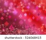 playing cards shining symbols....   Shutterstock . vector #526068415