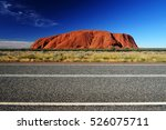 Australia Landscape   Red Rock...
