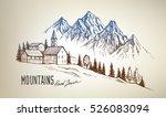 hand drawn vector illustration... | Shutterstock .eps vector #526083094