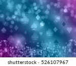 playing cards shining symbols.... | Shutterstock . vector #526107967