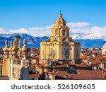 The church of San Lorenzo Turin Italy (HDR)