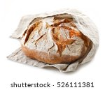 freshly baked bread isolated on ... | Shutterstock . vector #526111381