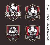 soccer logos  american logo... | Shutterstock .eps vector #526122919