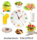 healthy food. diet concept.... | Shutterstock . vector #526129015