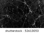 image of black marble stone | Shutterstock . vector #52613053