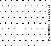 seamless pattern with triangles.... | Shutterstock .eps vector #526137385