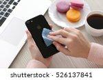 alushta  russia   november 19 ... | Shutterstock . vector #526137841