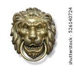 Old Style Lion\'s Head Knocker...