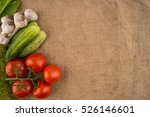 Cucumbers  Tomatoes  Garlic An...