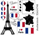 French Symbols And Icons....