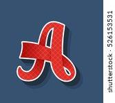 Letter A Logo. Vintage Handmade ...