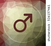 male sign icon. male sign... | Shutterstock . vector #526157461