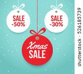 Christmas Balls Sale. Special...