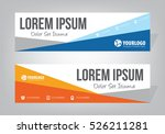 creative banner templates | Shutterstock .eps vector #526211281