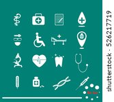 medical icons | Shutterstock .eps vector #526217719