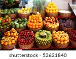 Colorful Fruit Stand In A Loca...