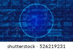 abstract technology concept for ... | Shutterstock . vector #526219231