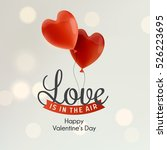 happy valentine's day... | Shutterstock .eps vector #526223695