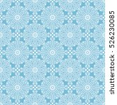 indian pattern. arabic  islamic ... | Shutterstock .eps vector #526230085