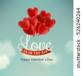 valentine's day illustration | Shutterstock .eps vector #526240264