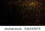 golden glitter texture... | Shutterstock . vector #526255075