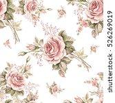 watercolor seamless pattern... | Shutterstock . vector #526269019