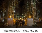 zrinjevac park decorated by... | Shutterstock . vector #526275715