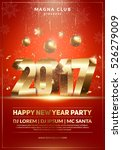 xmas and new year party club... | Shutterstock .eps vector #526279009