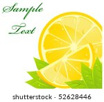 citrus background | Shutterstock .eps vector #52628446