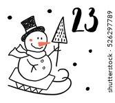 christmas advent calendar set....
