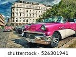 havana  cuba  oct 24  2016  old ... | Shutterstock . vector #526301941