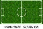 football field or soccer field... | Shutterstock . vector #526307155