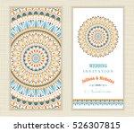 set of vintage wedding...   Shutterstock .eps vector #526307815