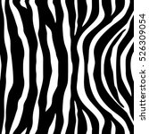 zebra stripes black white... | Shutterstock .eps vector #526309054