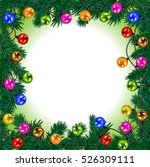 merry christmas and a happy new ... | Shutterstock .eps vector #526309111