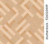 wooden parquet floor texture... | Shutterstock .eps vector #526310449