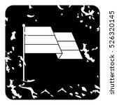 grunge illustration of flag... | Shutterstock .eps vector #526320145