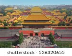 Forbidden City In Beijing From...