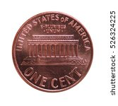 dollar  usd  coin  currency of... | Shutterstock . vector #526324225