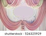Pastel Pink Curtain Pastel Lac...