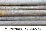 black metal pipe steel sort... | Shutterstock . vector #526332769