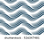 black and white vector endless...   Shutterstock .eps vector #526347481