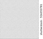 zigzag chevron pattern seamless | Shutterstock .eps vector #526353781