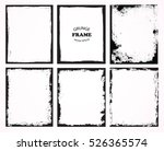grunge frames set.abstract... | Shutterstock .eps vector #526365574